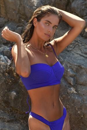 "Purple ""Plumeria"" Bikini Set"