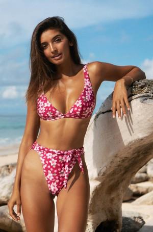"""Hawaiian Floral """"Anna"""" Bikini Set"""